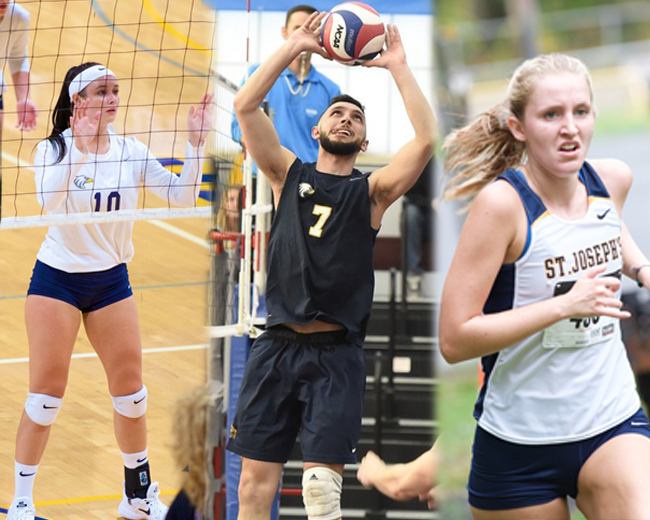Urizzo, Jones, and MacDonell Named Skyline Scholar-Athletes of the Year