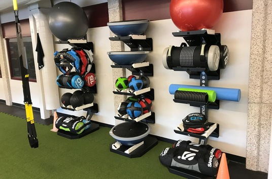 Medicine Balls, Foam rollers, and sand bags