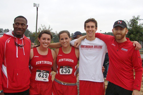 Huntingdon cross country closes season in GSAC championship meet