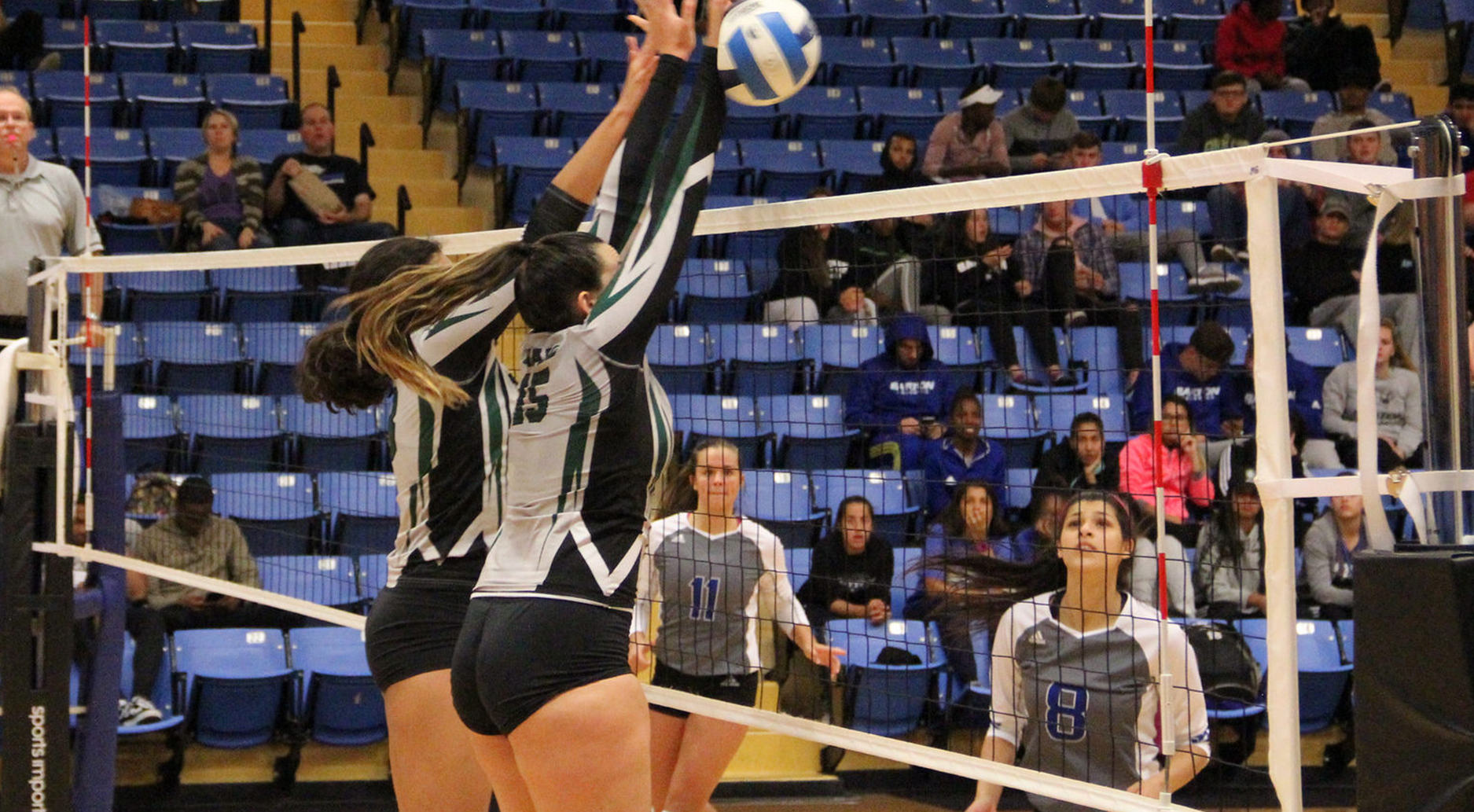 Lady Saints Sweep Cougars