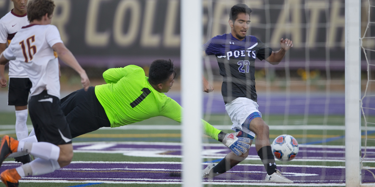 Men's Soccer faces tough test with Vanguard in season opener