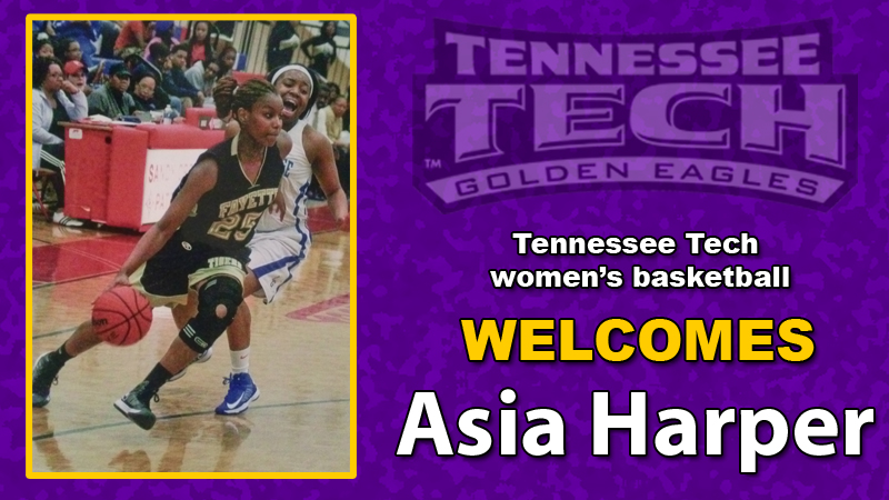 Women's basketball team announces the signing of forward Asia Harper