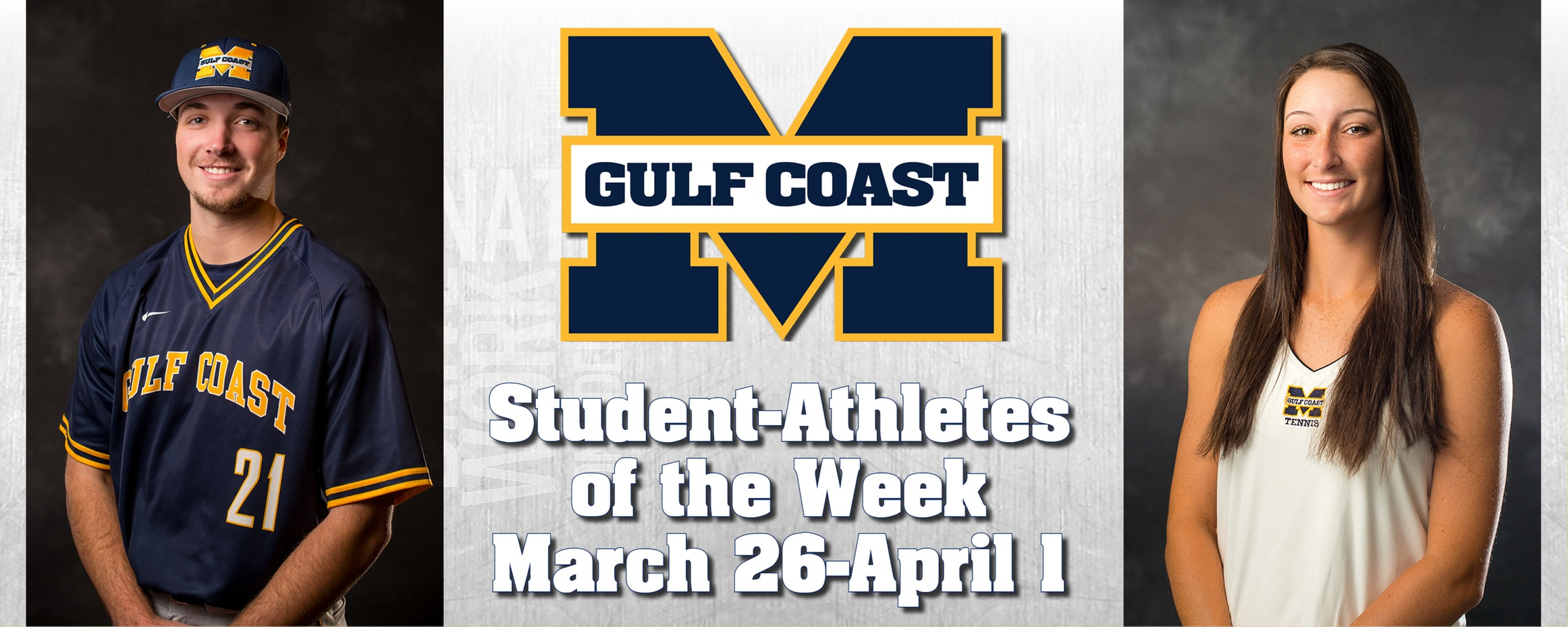 Barnes, Lyons named MGCCC Student-Athletes of the Week