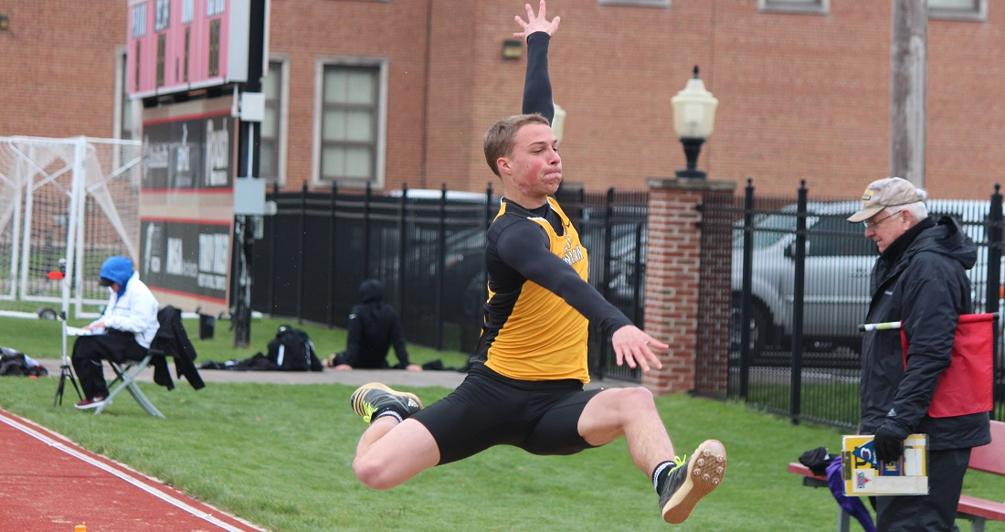 Bass, Pipher Set School Records In Men's Long Jump & 3000 Meter Steeplechase For Track And Field At Otterbein Twilight Invitational