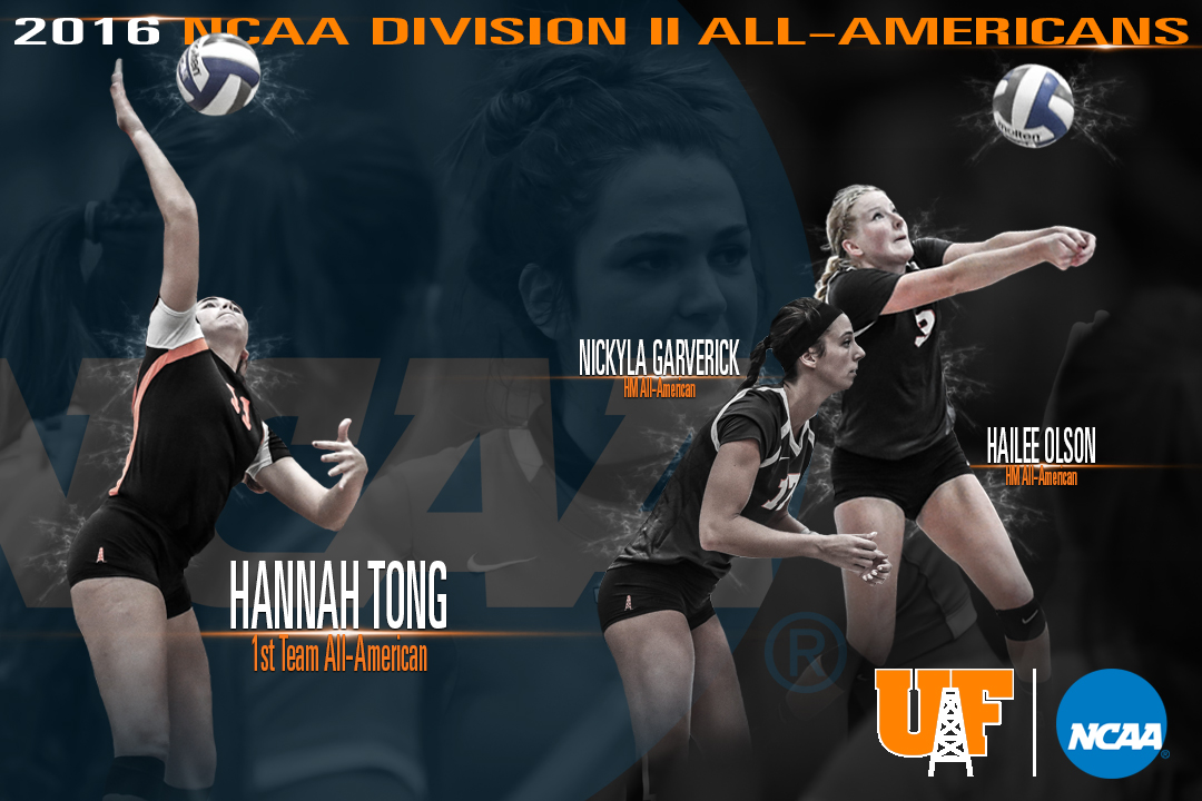 3 Oilers Earn AVCA All-American Honors