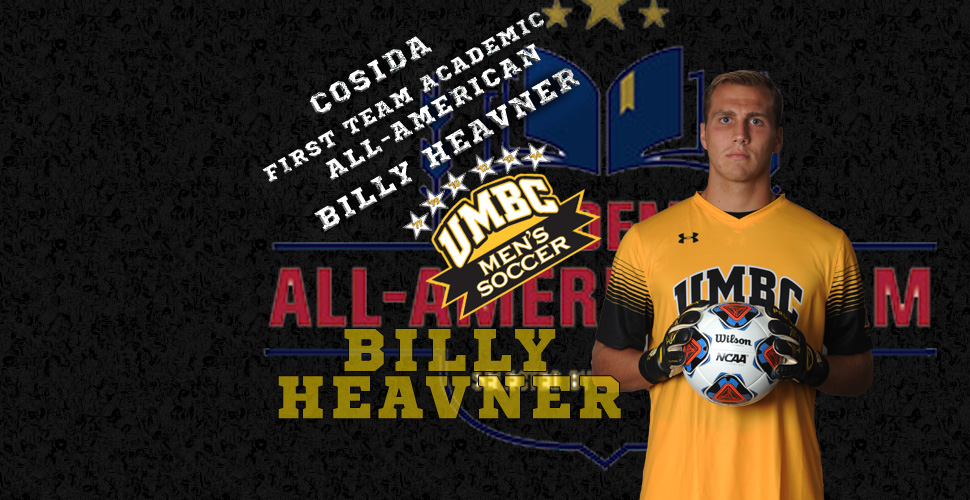 Billy Heavner Named First Team Academic All-American