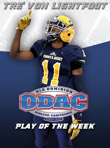 Emory & Henry Wins ODAC Football Play Of The Week Fan Poll For Week 10