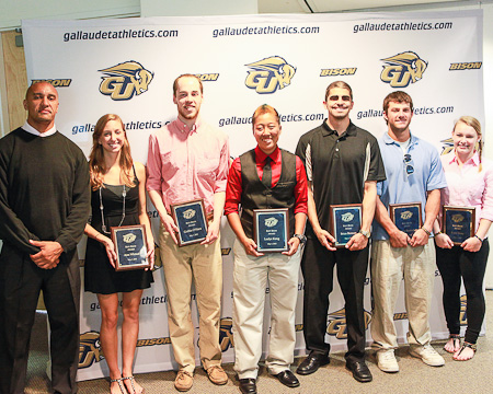 Gallaudet's Buff Bison of the Year award winners