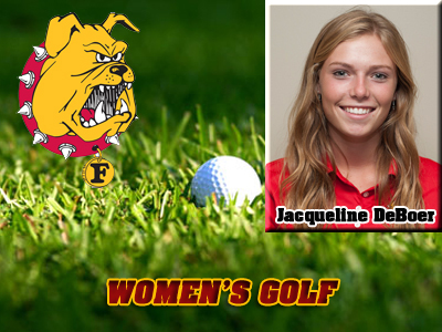 DeBoer and Baumgartner Swing Women's Golf To A Third-Place Finish