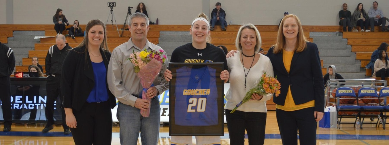 Wolard Ends Her Time At Goucher With A Career Day Against Scranton