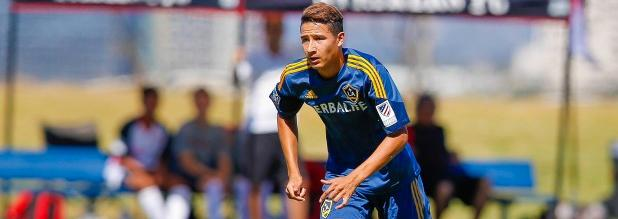 Adonis Amaya (Photo courtesy of the LA Galaxy)