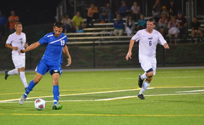 Men's Soccer Downs Hilbert 6-0