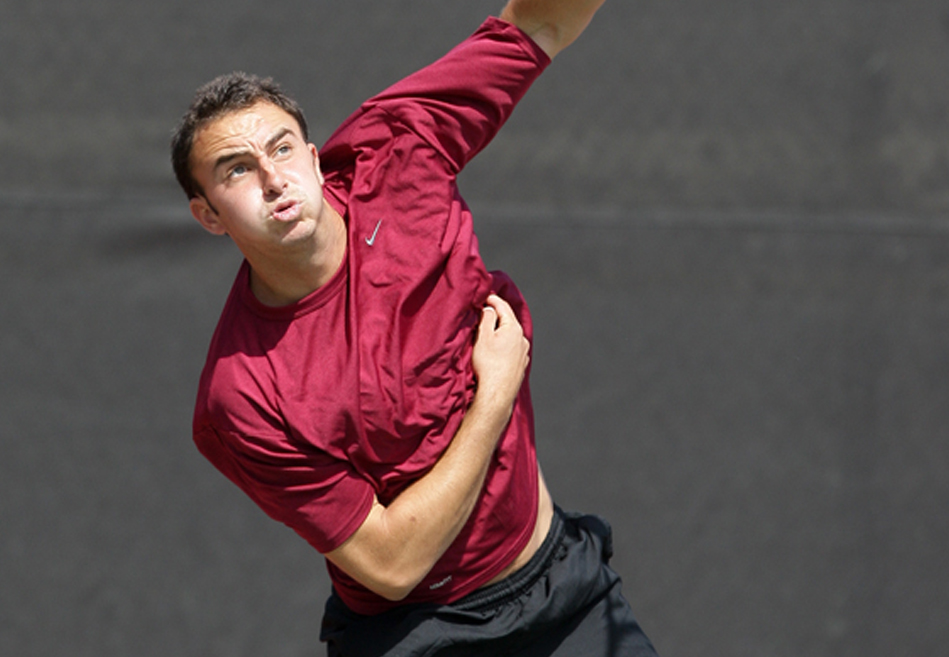 No. 49 Men's Tennis Closes Out Regular Season with Two Home Matches