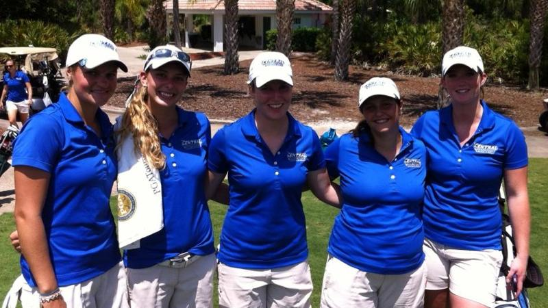 Ausanio, Women's Golf 3rd at NEC's