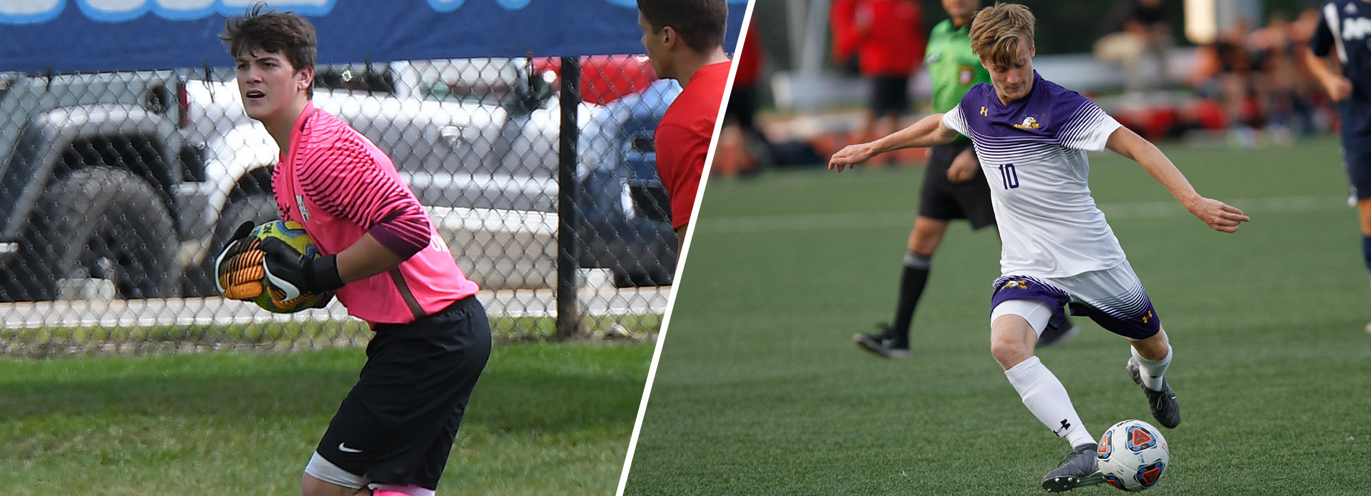 Ashland's Ardron, Northwood's Cecchini Gain Men's Soccer Weekly Honors
