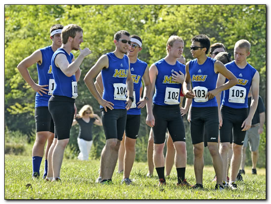 Mount men's cross team picked for 10th place in the HCAC Coaches' Preseason Poll.