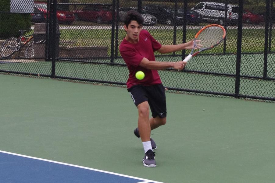 Men's Tennis Tripped Up By Tritons