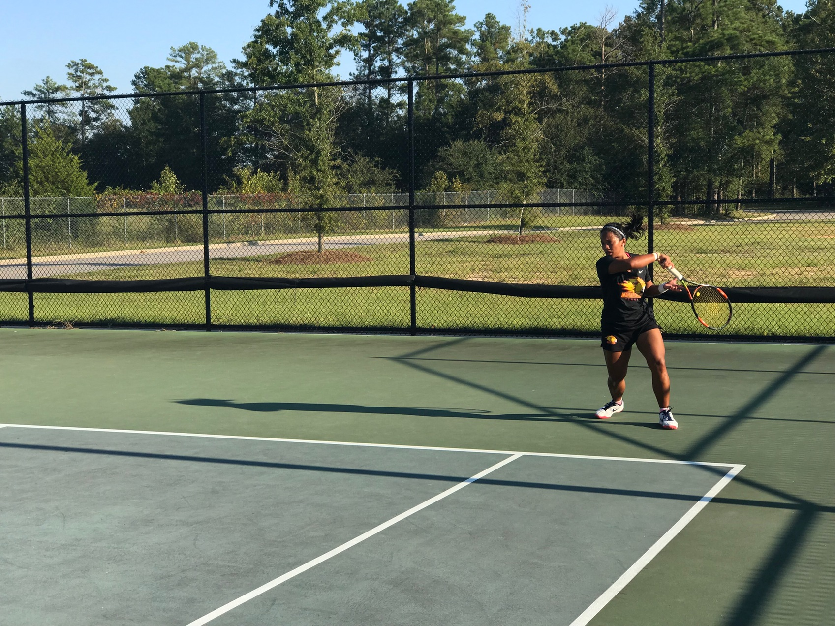 Lady Lions Tennis Team continues success at the PTC