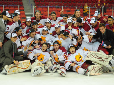 Bulldogs Win Regional To Reach Frozen Four!