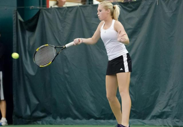 Preslee Nolte went unbeaten at both No. 1 singles and doubles