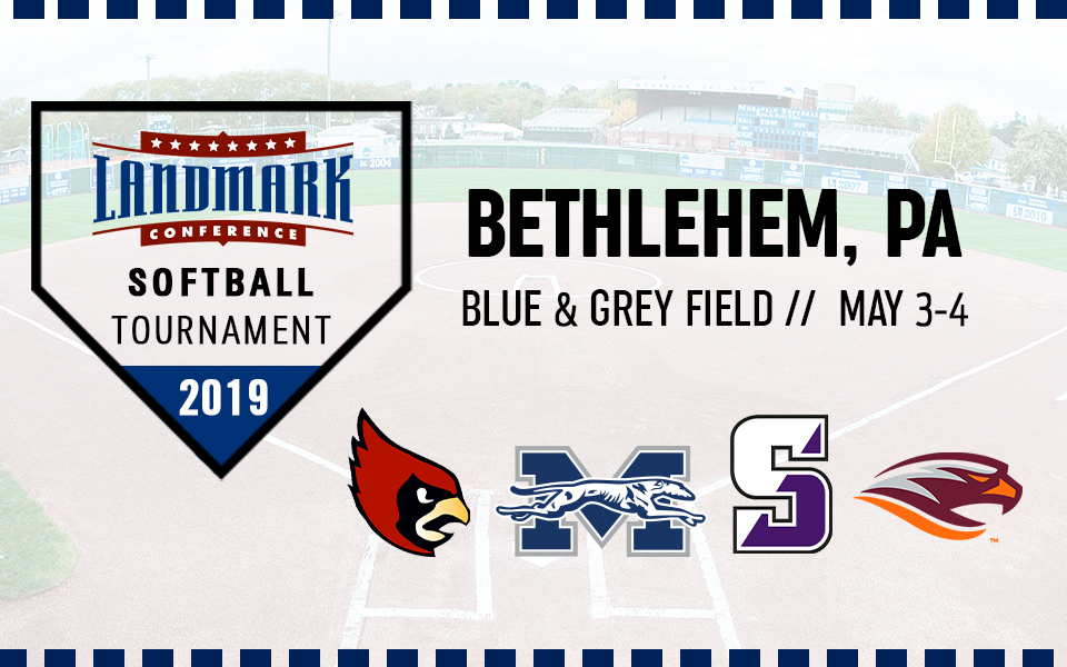 Moravian College hosting the 2019 Landmark Conference Softball Tournament on May 3-4 at Blue & Grey Field.