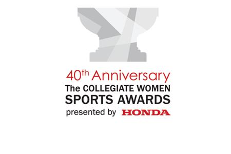 THE COLLEGIATE WOMEN SPORTS AWARDS AND HONDA REVEAL ANNIVERSARY LOGO