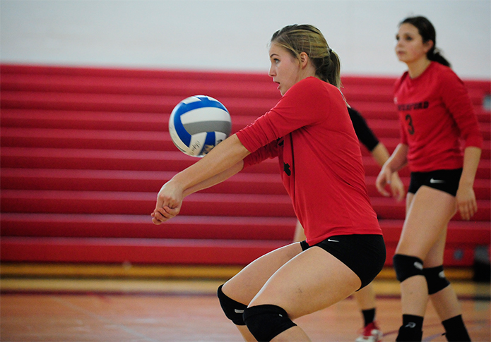 Centennial volleyball battle goes McDaniel's way