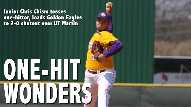 Chism's gem propels Golden Eagles to third straight OVC series win