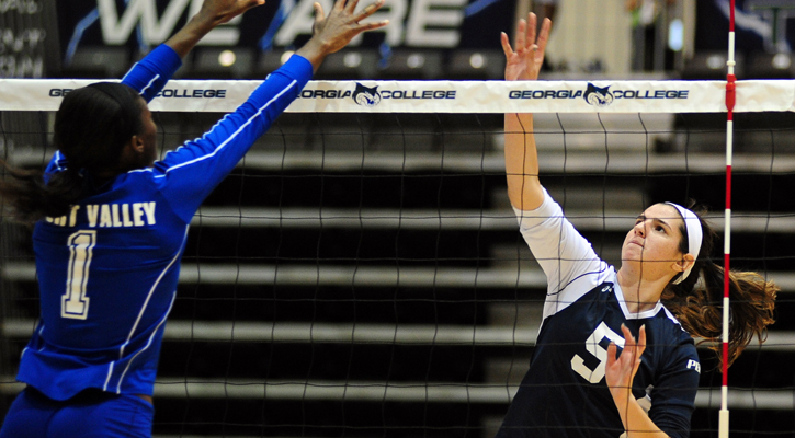 GC Volleyball Sweeps Fort Valley State, 3-0