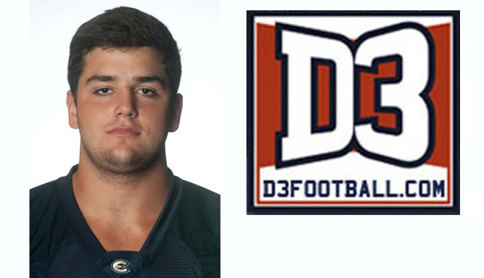 Austin Goetsch Named to D3football.com Team of the Week