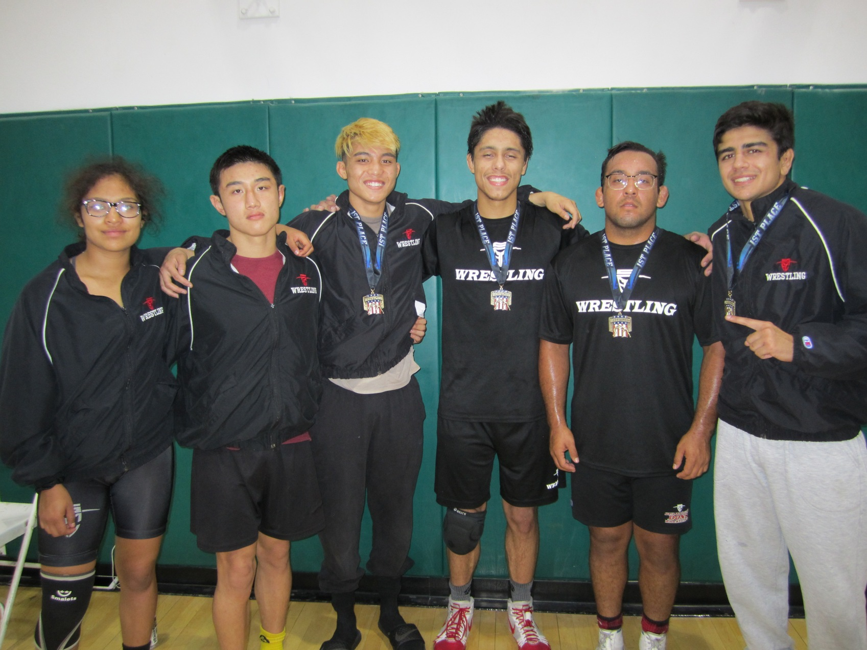 Dons Wrestling Takes Second at East LA Brawl Tournament