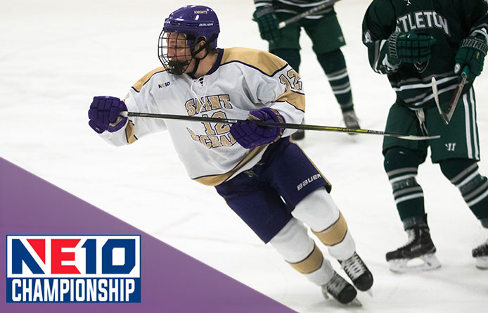 Purple Knights Fall to Saint Anselm, 6-5 in Overtime, During NE10 Title Game