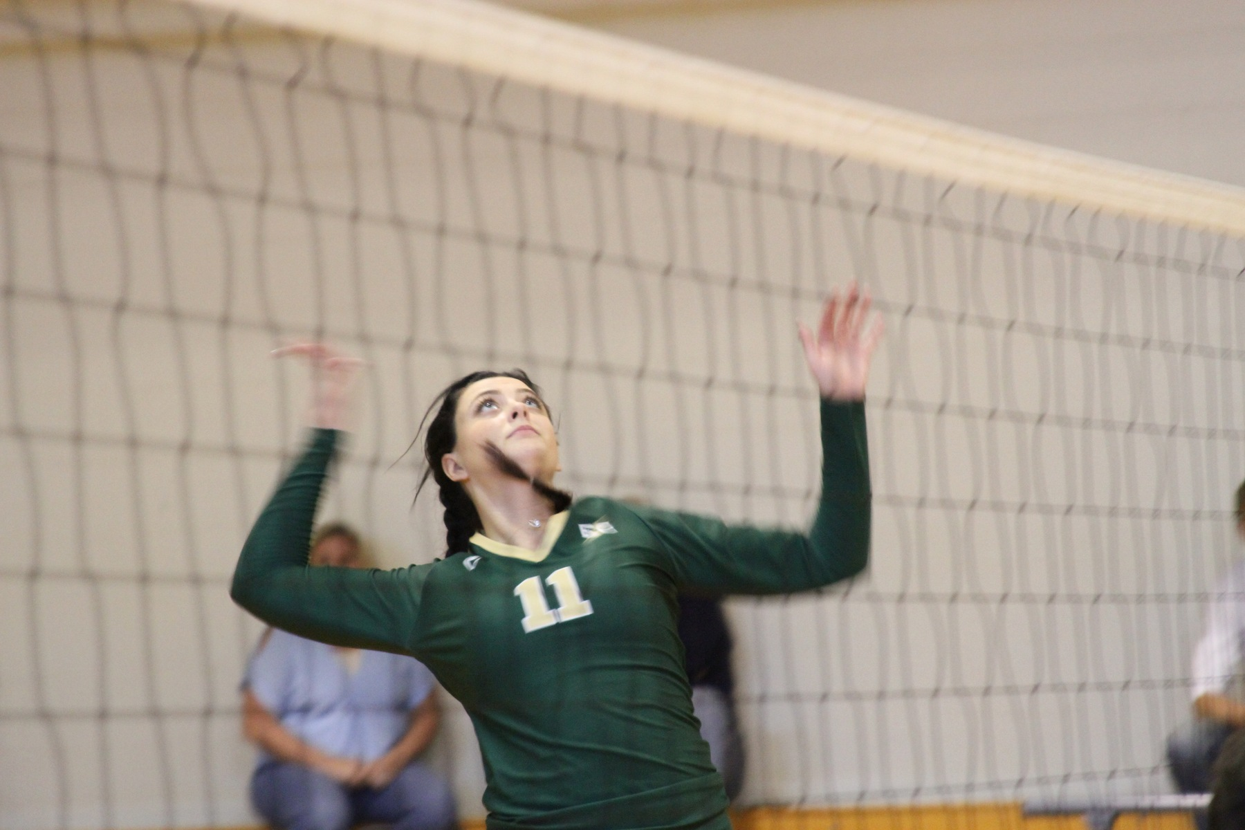 Elms Volleyball Sweeps SUNY Cobleskill To Open Blazer Invitational