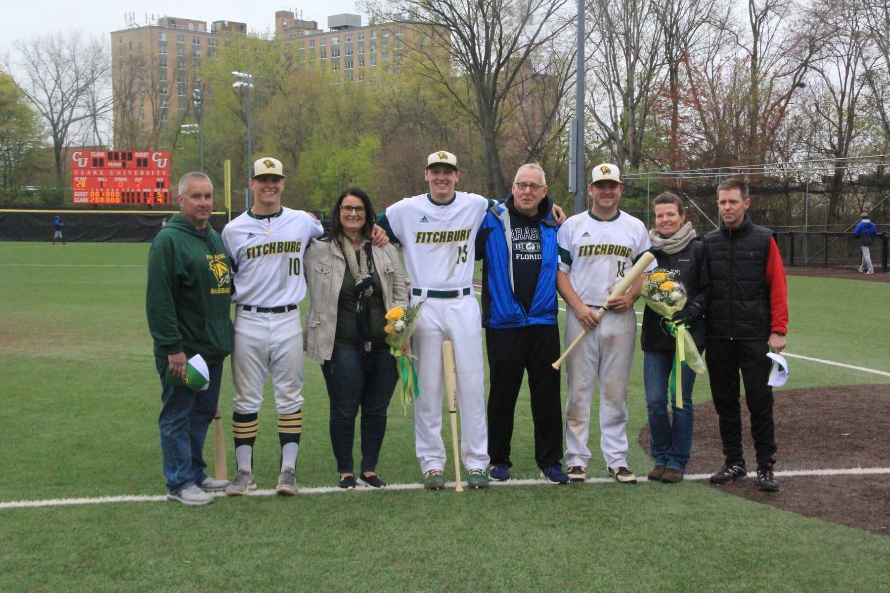 Falcons Split Twinbill with Owls on Senior Day