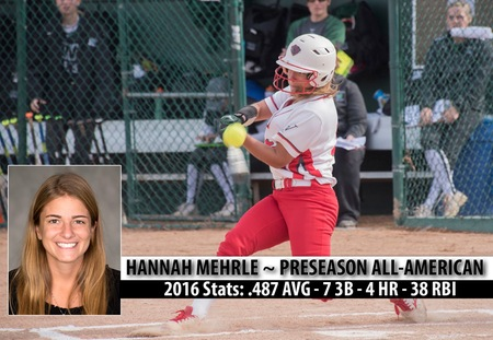 Hannah Mehrle of Washington University Named Fastpitch News Preseason All-America