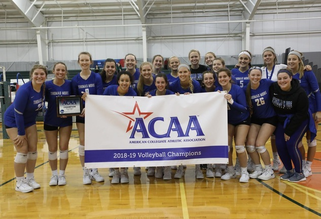 No. 7 Thomas More Wins ACAA Championship; Sweeps Finlandia