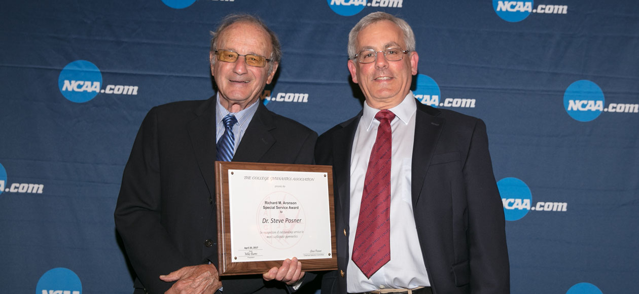 Posner Awarded Richard M. Aronson Special Service Award