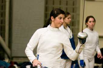 Brandeis women take second at Boston Beanpot fencing championship