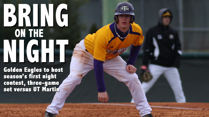 Golden Eagles back in Bush Stadium for three-game set against UT Martin