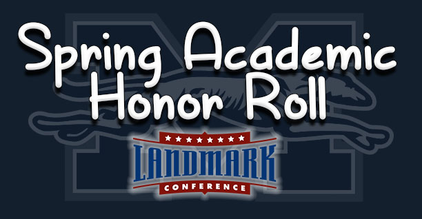 71 Greyhounds named to Landmark Conference Spring Academic Honor Roll.