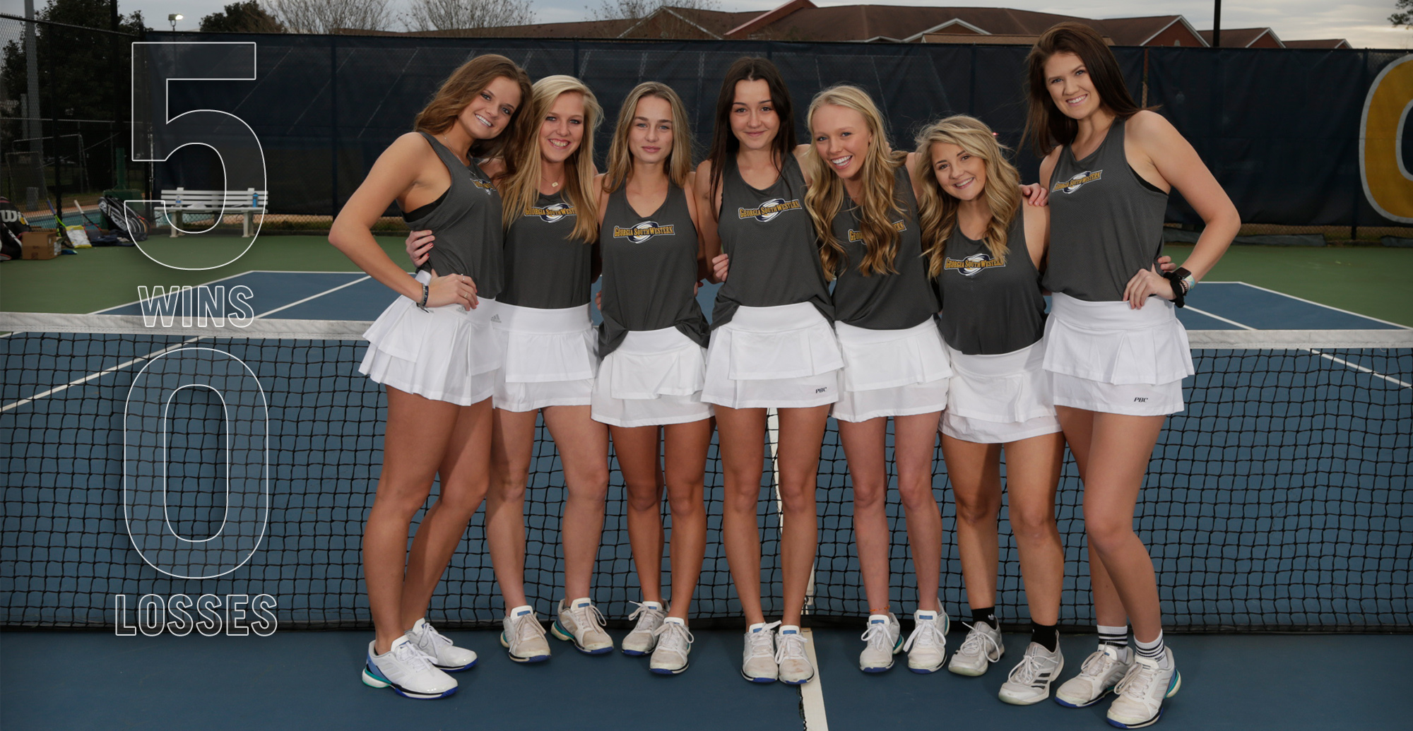 Perfect Season Continues, Women's Tennis Remains Unbeaten