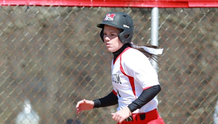 Seventh-inning rally leads Softball in split with Baldwin Wallace