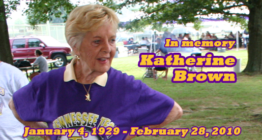 Visitation, funeral are Wednesday for Katherine Brown