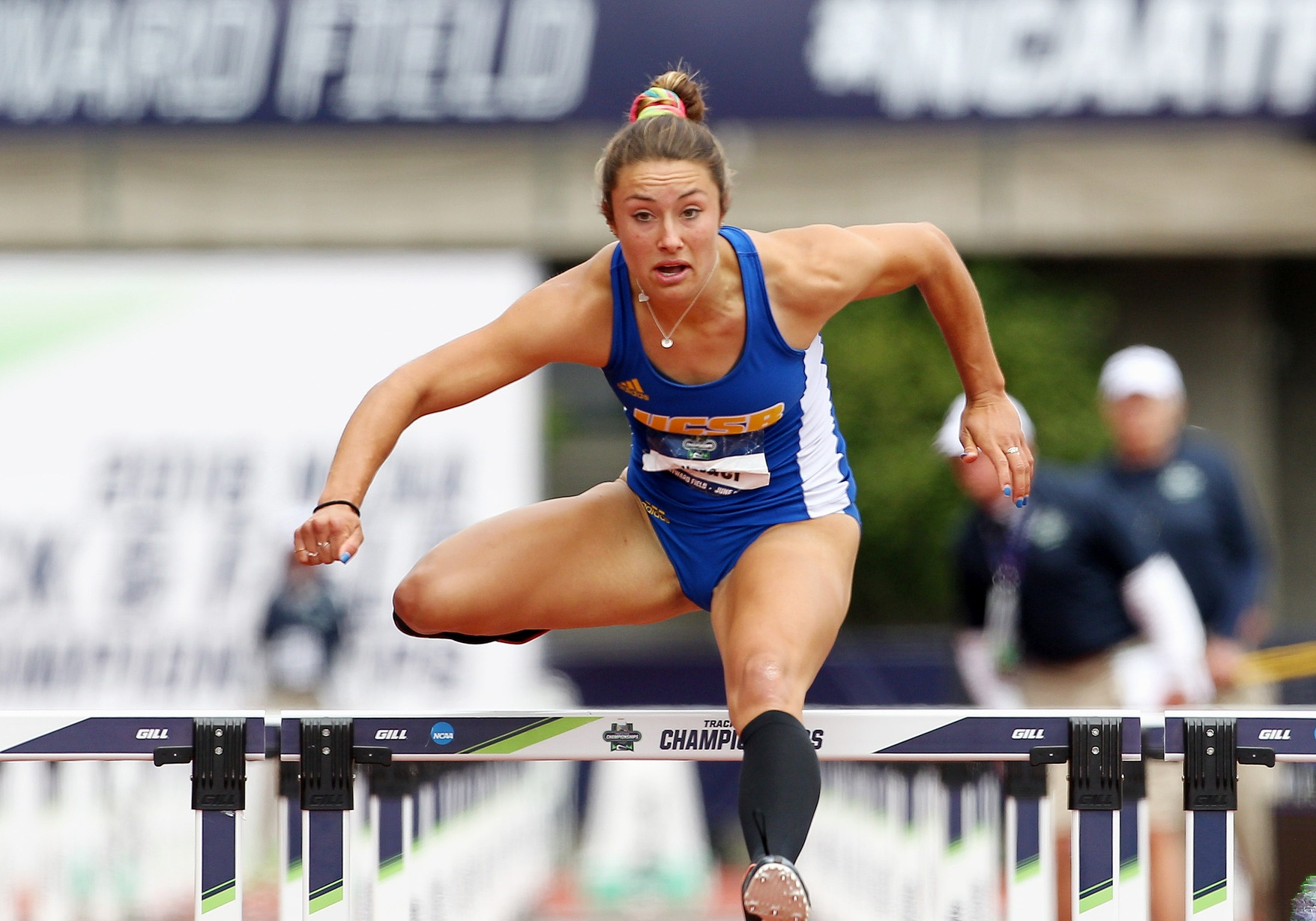 Bender Sixth at Indoor Nationals in Pentathlon, Makes First-Team All-American Status