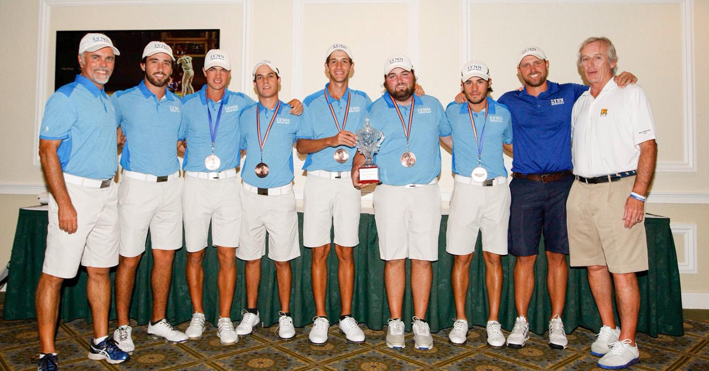 More Records Fall in Men's Golf Dominating Victory