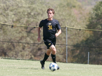 Men's Soccer Busts Out of the Gate at Conference Opener