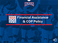 Financial Aid COP Policy video