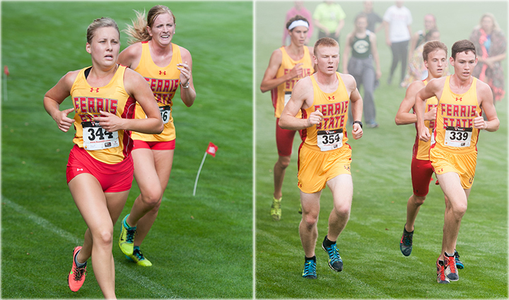 Ferris State Cross Country Returns To Action At MSU Spartan Invite