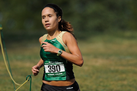 Wilson finishes ninth at CC meet