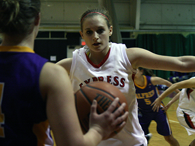 Roser Passes 1,500 Point Plateau In 55-45 Win Over Bard